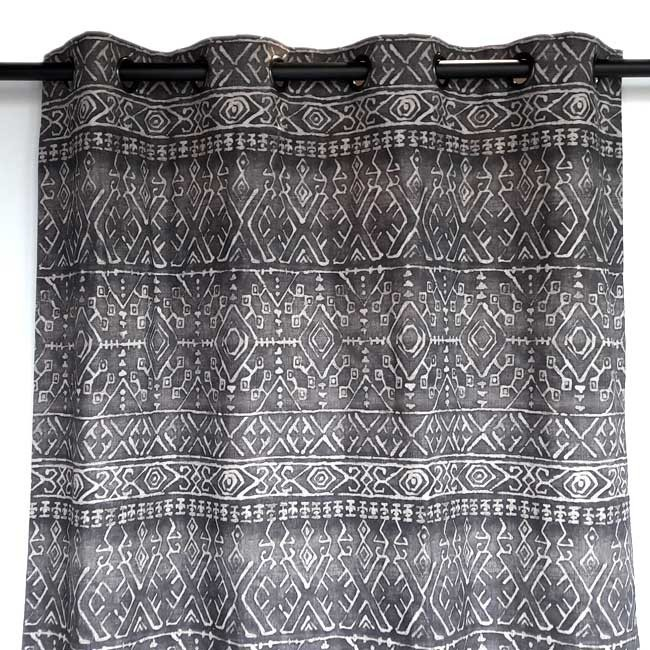Ethnic chic high end  curtain